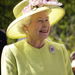 Queen Elizabeth II, photographed in 2007. Image by NASA/Bill Ingalls, courtesy of Wikimedia Commons.