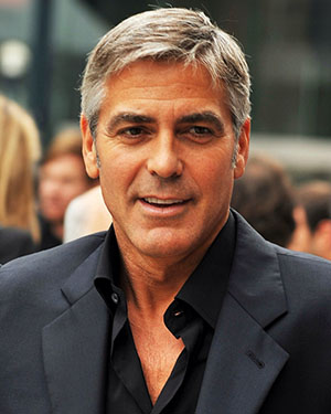 George Clooney at the Sept. 11, 2009 screening of 'Men Who Stare At Goats,' photo by Michael Vlasaty, licensed under the Creative Commons Attribution 2.0 Generic license.