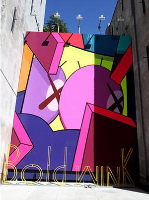 KAWS at BAM, New York City. Photo via arrestedmotion.com.