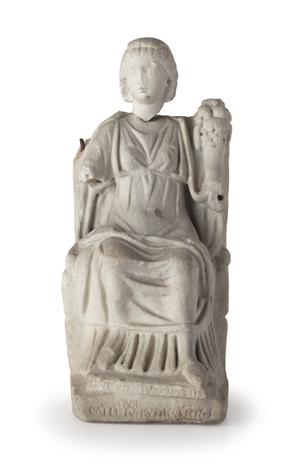 Lotto 59: 'Bona Dea,' II-III secolo D.C., Courtesy Wannenes Genova.