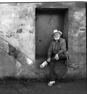 Ansel Adams, photograph by Jim Alinder.