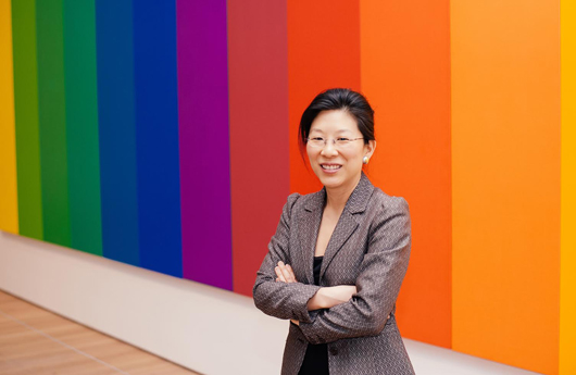 Tricia Paik, curator of contemporary art at the Indianapolis Museum of Art. Image courtesy of Indianapolis Museum of Art.