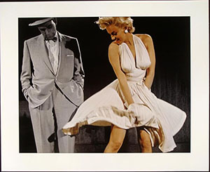 The 'Forever Marilyn' statue was inspired by a famous scene from 'The Seven Year Itch.' Image courtesy of LiveAuctioneers.com Archive and Universal Live.