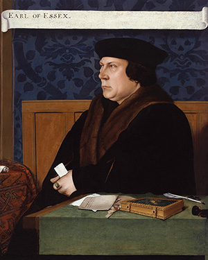 'Thomas Cromwell, Earl of Essex,' after Hans Holbein the Younger, early 17th century (1533-1534) © National Portrait Gallery, London.