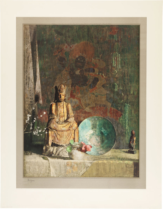 Complete set of fine art prints of Armenian-American artist Hovsep Pushman, most prints signed [Hovsep Pushman, artist]. Complete set of 29 fine art collotype prints of masterpiece paintings by Hovsep Pushman. Estimate: $40,000-plus. Heritage Auctions image.