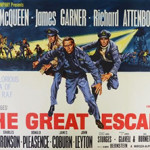 Poster for the 1963 movie 'The Great Escape.' Image courtesy of LiveAuctioneers.com Archive and Ewbank's.