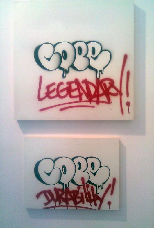 Cope2, Krause Gallery, New York City. Photo by Ilana Novick.