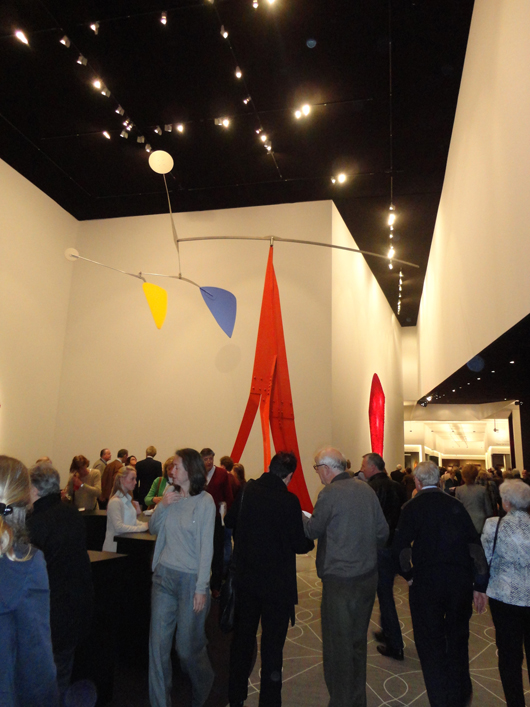 Alexander Calder's 'Janey Waney' on display at the European Fine Art Fair in Maastricht in March. Image Auction Central News.