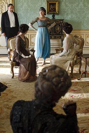 Costumes from 'Downton Abbey' on display at Winterthur. Nick Briggs, Carnival Film and Television Limited, 2010.