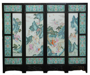 Chinese screen sells for $121,000 at Elite Decorative Arts