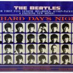 'Hard Day's Night' poster. Ewbank's image.