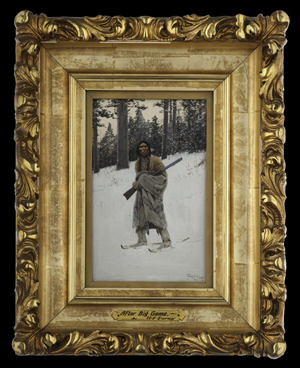 Henry Farny's 'After Big Game' sold for $96,000. Cowan's Auctions Inc.