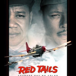 The story of the Red Tails was told in a 2012 major motion picture starring Cuba Gooding Jr and Terence Howard. Fair use of low-resolution copyrighted image. Poster art copyright is believed to belong to 20th Century Fox.