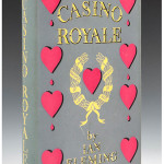 A first edition of Ian Fleming's 'Casino Royale' sold for £24,180 ($40,612) at Dreweatts & Bloomsbury Auctions' sale of Modern Literature on April 11. Dreweatts & Bloomsbury image.