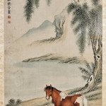 Chinese painting attributed to Ma Jin. I.M. Chait Gallery / Auctioneers image.