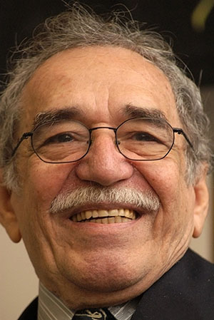 Gabriel Garcia Marquez. Image by Jose Lara. This work is licensed under the Creative Commons Attribution-ShareAlike 2.0 License.