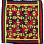 Mennonite Windmill Log Cabin quilt, circa 1890. Image courtesy of LiveAuctioneers.com Archive and Cowan's Auctions Inc.