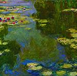 Claude Monet, 'Le Bassin aux Nymphéas' (Water Lily Pond), 1919, oil on canvas, Paul G. Allen Family Collection. Image courtesy of the Portland Art Museum.