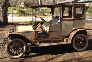 This 1911 touring Cadillac has won first prize in virtually every car meet competition it has been entered in. Preston Evans Opportunities image.