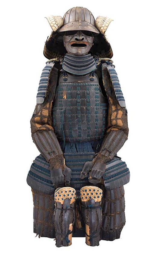 Japanese armor (Tosei Gusoku), Edo period. Est. £1,500-£2,000. Thomas Del Mar image