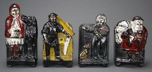 Rarest of the rare, the Moore selection of Harper safes is second to none. RSL Auction Co. image