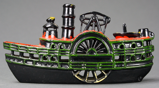The very rare Indiana Paddle Wheeler. RSL Auction Co. image
