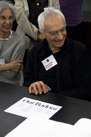 Massimo Vignelli. Image by Arwcheek, courtesy of Wikimedia Commons.