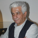 Iranian sculptor Parviz Tanavoli. Image by Masih Azarakhsh. This file is licensed under the Creative Commons Attribution-Share Alike 2.0 Generic license.