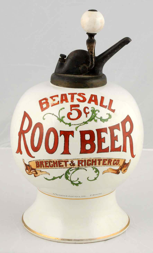 Beats All syrup dispenser, $20,400. Morphy Auctions image