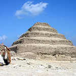 Saqqara Pyramid of Djoser in Egypt. Feb. 16, 2007 photo by Charlesjsharp, licensed under the Creative Commons Attribution-Share Alike 3.0 Unported license.