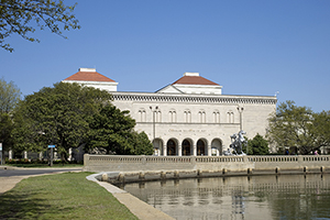 Exterior view of the Chrysler Museum of Art in Norfolk, Virginia. Image courtesy of the museum.