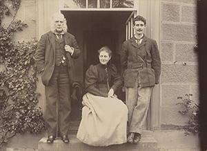 Rupert Potter, Beatrix Potter and Bertram Potter in Lennel, Coldstream, by Rupert Potter, 1894 © National Portrait Gallery, London.