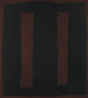 Mark Rothko's 'Black on Maroon,' 1958. Tate Modern image.