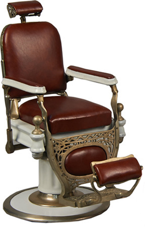 Delicieux An Exceptional Salesmanu0027s Sample Of A Kochs Barber Chair Sold For $42,000.  Victorian Casino Antiques