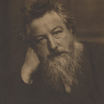 William Morris by Frederick Hollyer, 1884. Copyright: National Portrait Gallery, London.
