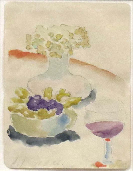 Alexei Von Jawlensky, watercolor. William Jenack Estate Appraisers and Auctioneers image.