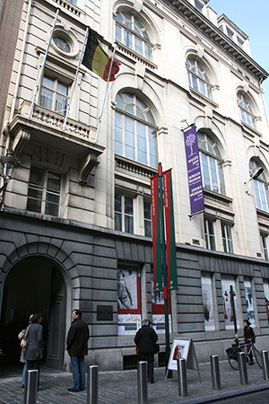 2009 photo of the Jewish Museum of Belgium, in Brussels. Credit: Michael Wal, licensed under the Creative Commons Attribution-Share Alike 3.0 Unported, 2.5 Generic, 2.0 Generic and1.0 Generic license.