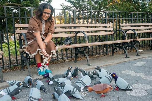 Flash Flock, Tina Trachtenburg, New York City. Photo by Lippe via TheExaminer.com