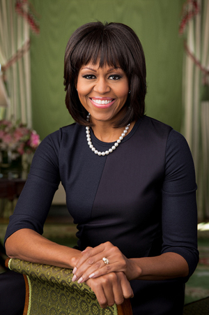 First Lady Michelle Obama. White House photo.