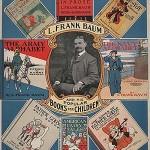 Promotional poster for Baum's 'Popular Books for Children,' 1901.