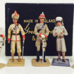 Selections from more than 30 Greenwood and Ball figures with estimates ranging from $100 to $1,000. Old Toy Soldier Auctions image
