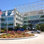 EBay's North First Street satellite office campus in San Jose, California, home to PayPal. Photo by Sagarsavla, Creative Commons by ShareAlike 3.0 license