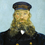 'Portrait of the Postman Joseph Roulin,' (1888) by Vincent van Gogh. Detroit Institute of Arts, courtesy of Wikimedia Commons.