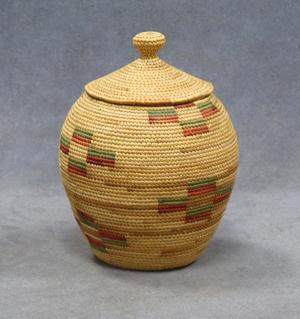 Fine Northwest Coast Indian basket. William Jenack Estate Appraisers and Auctioneers image.