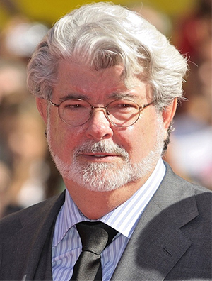 'Star Wars' creator George Lucas. Image by Nicholas Genin. This file is licensed under the Creative Commons Attribution-ShareAlike 2.0 Generic license.