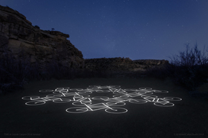 Ai Weiwei project for TIME at Coyote Canyon. Image courtesy of New Mexico Arts, Department of Cultural Affairs.