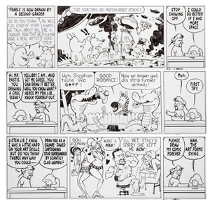 Heritage To Sell Art From Watterson Pastis Collaboration Aug 8