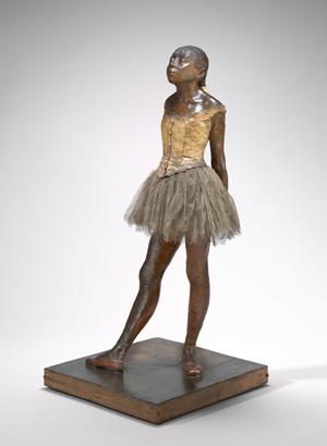 Edgar Degas, 'Little Dancer Aged Fourteen,' 1878-1881. National Gallery of Art, Collection of Mr. and Mrs. Paul Mellon.