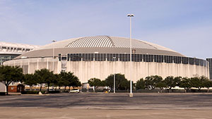 Opened in 1965, the Astrodome was the world's first multipurpose, domed sports stadium. Image by EricEnfermero. This image is licensed under the Creative Commons Attribution-ShareAlike 3.0 Unported License.