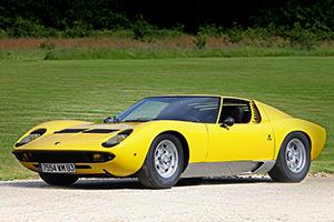 1968 Lamborghini Miura P400. Silverstone Auctions Image.
